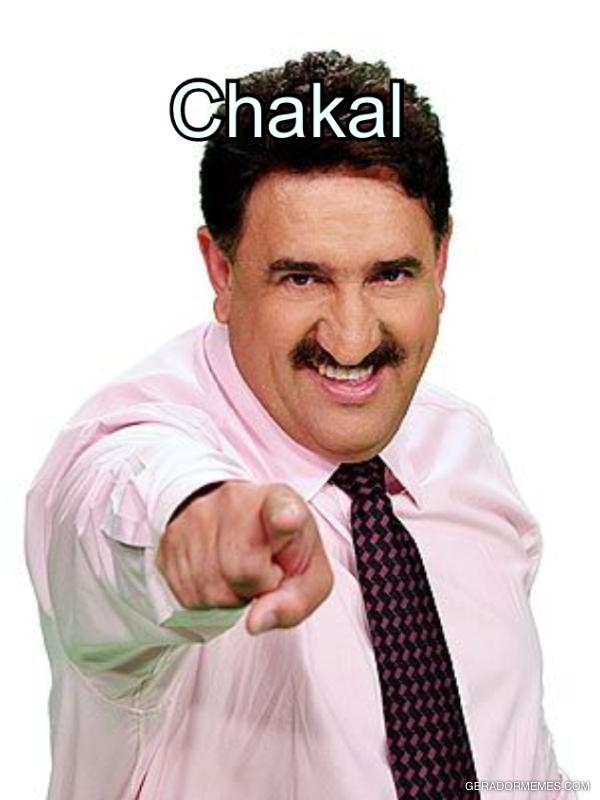 Chakal passa mau de tanto beber SCHIN, a cerveja que é feita do mijo do Morcego